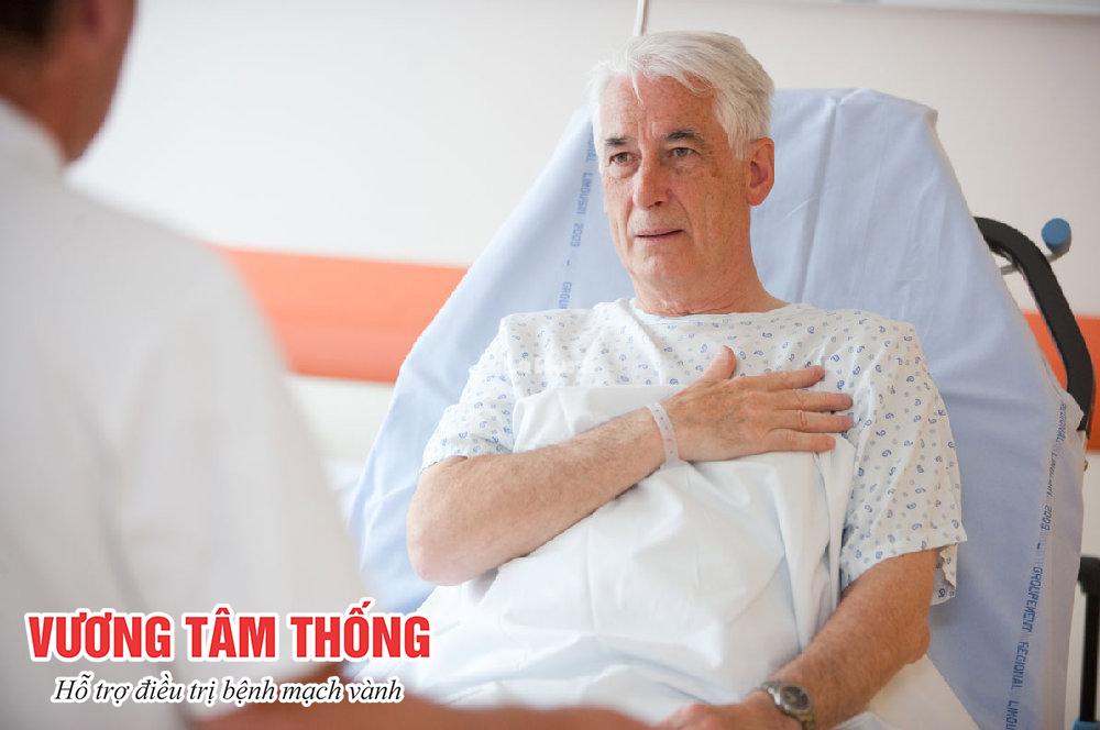 Đau thắt ngực phổ biến ở người trung niên và người cao tuổi
